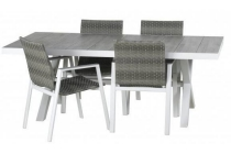 intratuin diningset thor wit