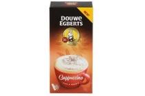douwe egberts cappuccino oploskoffie