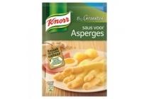 knorr saus voor asperges