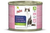 prins naturecare cat kip en zalm 400 g