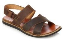 clarks lederen sandaal