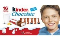 kinder chocoladereepjes