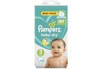 pampers baby dry maat 3 luiers