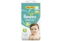pampers baby dry maat 5 luiers