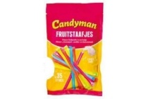 candyman fruitstaafjes