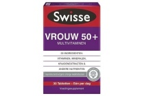 swisse multivitaminen vrouw 50 tabletten