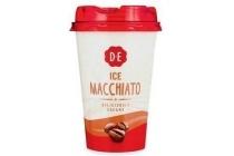ice coffee macchiato