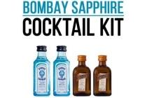 bombay sapphire cocktailkit