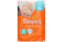 pampers luiers sleep en play maat 5