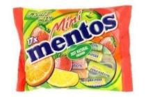 fruittella mini mentos