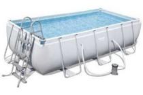power steel frame pool zwembadset 404x201x100cm