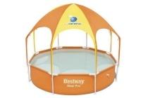 steel pro framezwembad met uv canopy