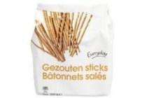 everyday gezouten sticks