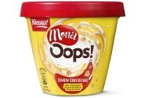 mona oops lemon cheesecake yoghurt