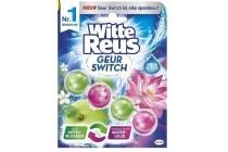 witte reus geur switch appelbloesem en waterlelie toiletblok