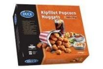 duca snacks kipfilet popcorn nuggets