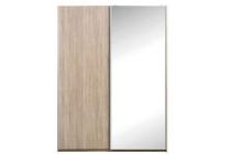schuifdeurkast parijs eiken spiegel