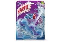 harpic active fresh 6 toiletblok lavendel