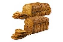 boeren meergranen of donker kornbrood