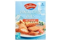 queens pangalicious bites ketchup