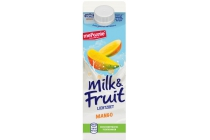 milk en fruit mango