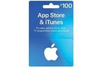 app store en itunes card 100 euro