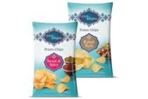1001 delights potato crisps