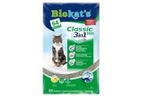 biokat s classic fresh 3 in 1 kattenbakvulling