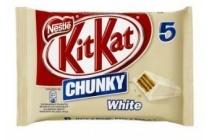 kitkat chunky white 5 pak