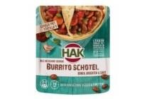 hak burrito schotel mild
