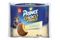prince chocoprince vanille 6 stuks