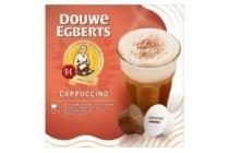 douwe egberts cappuccino capsules