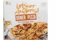 lekker en anders doener pizza