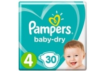 pampers baby dry nummer 4