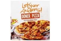 lekker en anders pizza