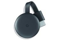 google chromecast v3 zwart