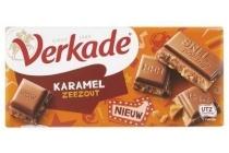 verkade chocoladereep karamel zeezout