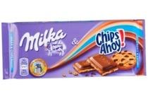 milka chocoladereep chips ahoy