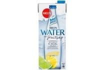 dubbelfrisss water met fruitsap citroen limoen