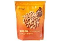 g woon dry roasted pinda s