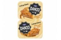 danio luchtige kwark appeltaart
