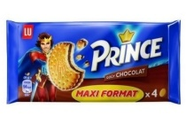 lu prince fourre chocolade