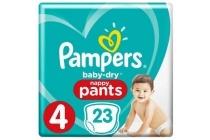 pampers baby dry pants maat 4 luierbroekjes