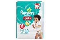 pampers baby dry pants maat 6 luierbroekjes