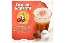 douwe egberts cups cappuccino