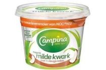 campina milde kwark kokos