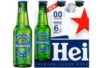 heineken 0 0 alcoholvrij bier fles 6 x 25cl