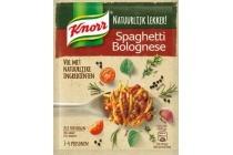 knorr natuurlijk lekker spaghetti bolognese maaltijd mix