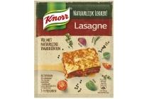 knorr natuurlijk lekker lasagne maaltijdmix