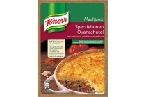 knorr ovenschotel sperziebonen maaltijdmix